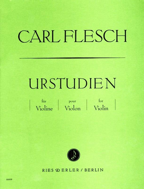 Urstudien für Violine - Carl Flesch - Partition - laflutedepan.com