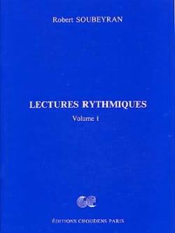 Lectures Rythmiques Volume 1 Robert Soubeyran Partition laflutedepan