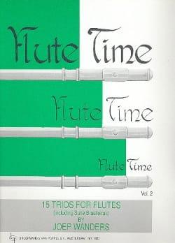 Flute Time Volume 2 - Trios Joep Wanders Partition laflutedepan