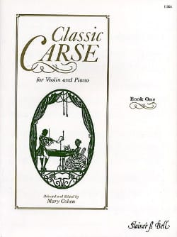 Classic Carse, book 1 Adam Carse Partition Violon - laflutedepan