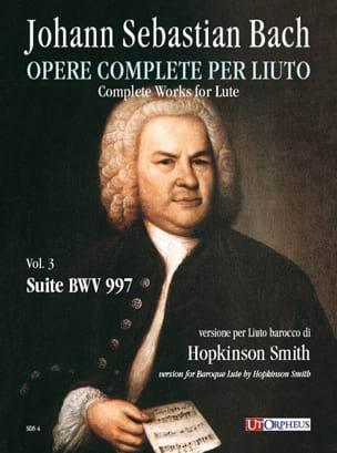 Suite BWV 997 BACH Partition Luth - laflutedepan