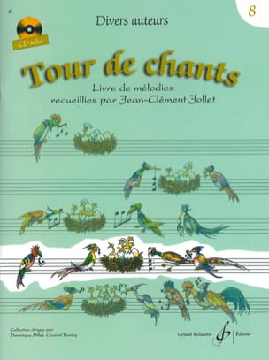 Tour de Chants Volume 8 - Jean-Clément Jollet Partition laflutedepan
