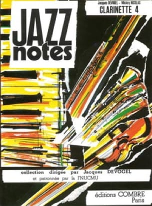 Jazz Notes Clarinette 4 - Patricia-Dixie Boy - laflutedepan.com