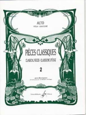 Pièces Classiques Volume 2 - Alto - Frédéric Lainé - laflutedepan.com