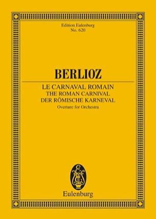 Le Carnaval Romain, Ouverture BERLIOZ Partition laflutedepan