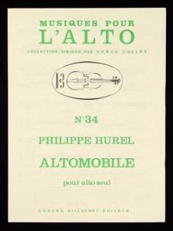 Altomobile Philippe Hurel Partition Alto - laflutedepan