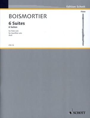 6 Suiten, op. 35 - Flöte solo BOISMORTIER Partition laflutedepan