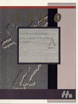 Gavotte et Berceuse Maurice Faillenot Partition laflutedepan