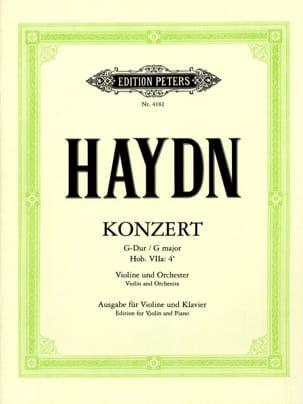 Concerto pour Violon en sol majeur Hob. 7a : 4 HAYDN laflutedepan