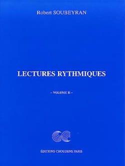 Lectures Rythmiques Volume 2 Robert Soubeyran Partition laflutedepan