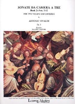 Sonata da camera a tre op. 1 - Book 2 n° 7-12 - laflutedepan.com