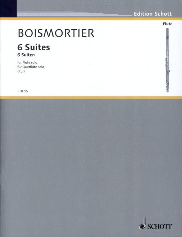 6 Suiten, op. 35 - Flöte solo - BOISMORTIER - laflutedepan.com