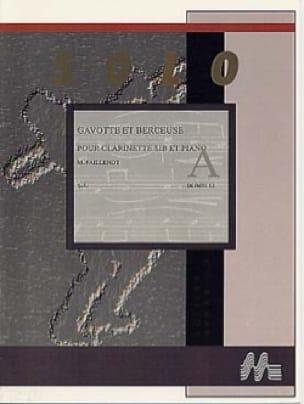 Gavotte et Berceuse - Maurice Faillenot - Partition - laflutedepan.com