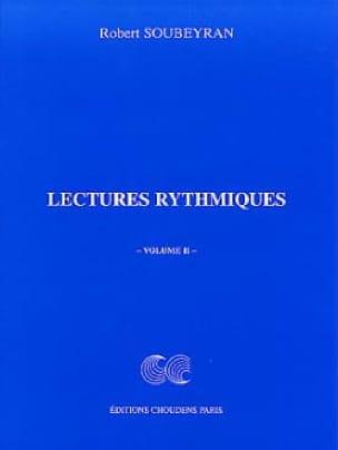 Lectures Rythmiques Volume 2 - Robert Soubeyran - laflutedepan.com