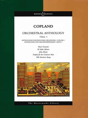 Orchestral Anthology Volume 1 - Conducteur - laflutedepan.com