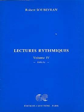 Lectures Rythmiques Volume 4 Robert Soubeyran Partition laflutedepan