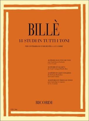 18 Studi in tutti toni - Contrabbasso Isaia Billè laflutedepan
