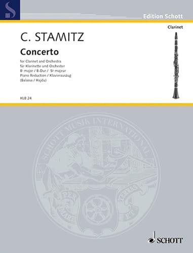 Konzert B-Dur Darmst. Kzt Nr. 2 - Klarinette Klavier - laflutedepan.com
