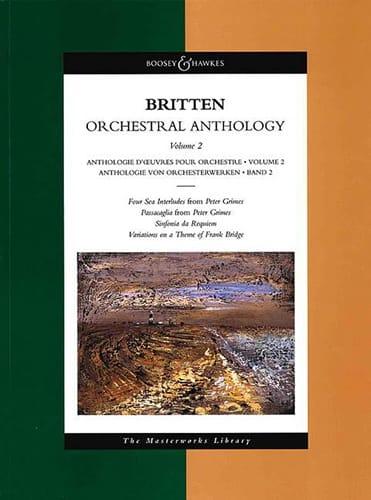 Orchestral Anthology - Volume 2 - BRITTEN - laflutedepan.com