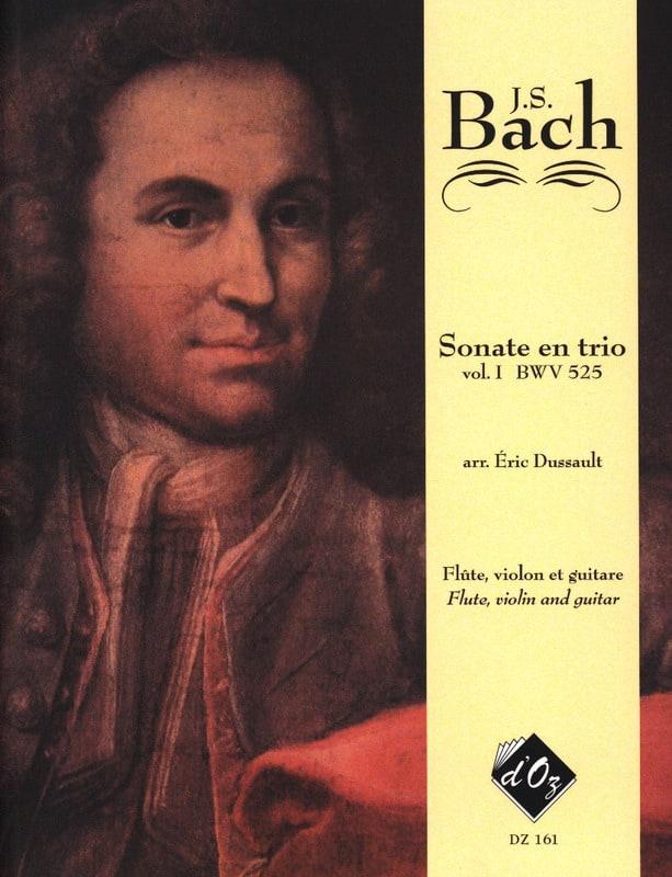 6 Sonates En Trio Volume 1 Bwv 525 - BACH - laflutedepan.com