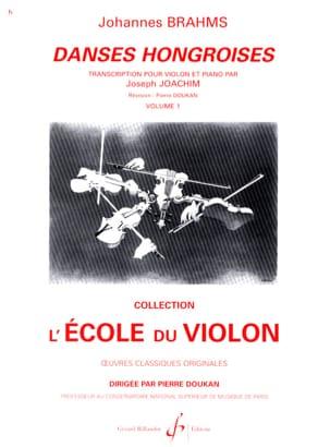 Danses Hongroises Volume 1 N° 1 A 10 BRAHMS Partition laflutedepan