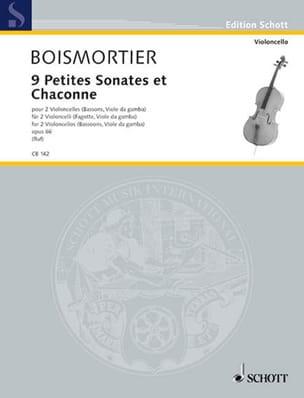 9 Petites Sonates et Chaconne, op. 66 BOISMORTIER laflutedepan