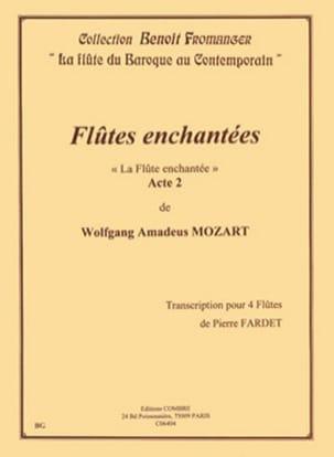 La Flûte Enchantée Acte 2 MOZART Partition laflutedepan
