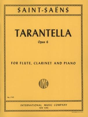 Tarentelle, opus 6 SAINT-SAËNS Partition Trios - laflutedepan