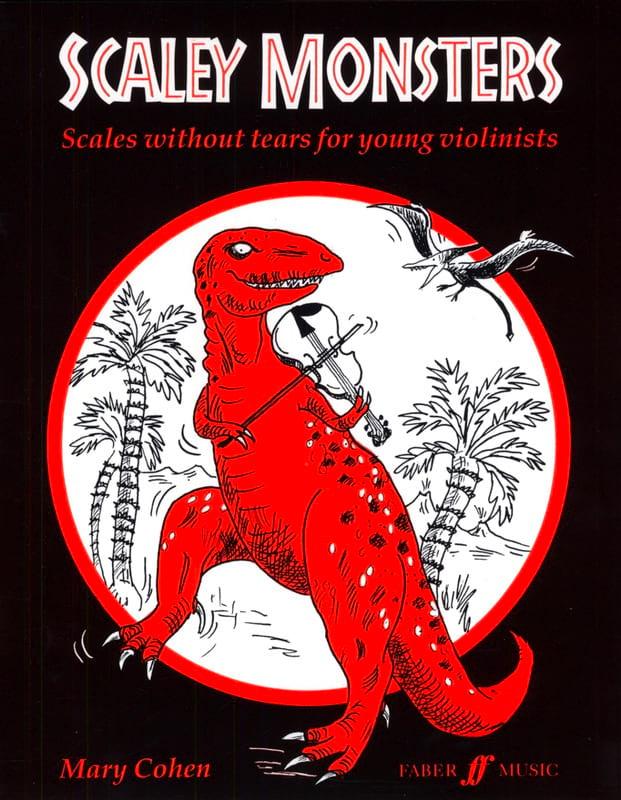 Scaley monsters - Mary Cohen - Partition - Violon - laflutedepan.com