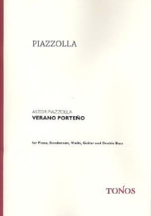 Verano Porteño -quintette - Astor Piazzolla - laflutedepan.com