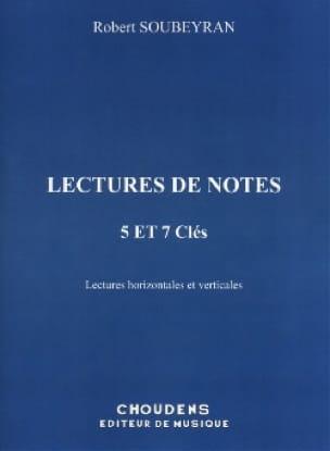 Lecture de notes - 5 et 7 Clés - Robert Soubeyran - laflutedepan.com