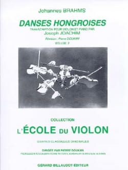 Danses Hongroises Volume 2 - N° 11 A 21 BRAHMS Partition laflutedepan