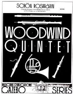 Schön Rosmarin -Woodwind quintet KREISLER Partition laflutedepan