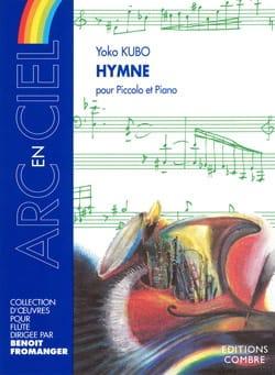 Hymne - Yoko Kubo - Partition - Flûte traversière - laflutedepan.com