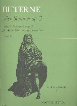 Sonate Op. 2 n° 1 et 2 Charles Buterne Partition laflutedepan