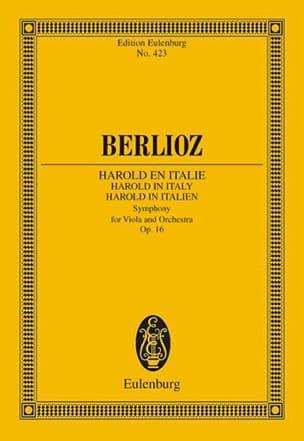 Harold En Italie Op. 16 BERLIOZ Partition Petit format - laflutedepan