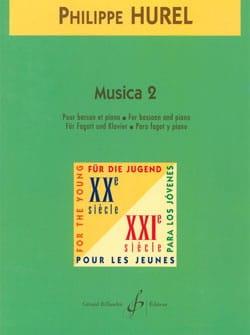 Musica 2 Philippe Hurel Partition Basson - laflutedepan