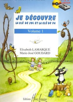 Elisabeth LAMARQUE et Marie-José GOUDARD - I discover the key to Sol and Fa - Volume 1 - Partition - di-arezzo.co.uk