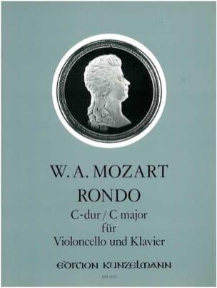 Rondo C-Dur -VIoloncello Klavier MOZART Partition laflutedepan