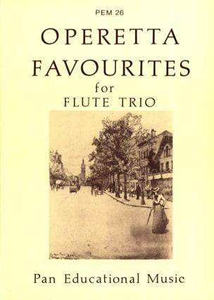 Operetta favourites - Flute Trio Partition laflutedepan