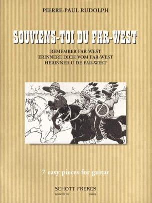 Souviens-toi du Far-West Pierre-Paul Rudolph Partition laflutedepan