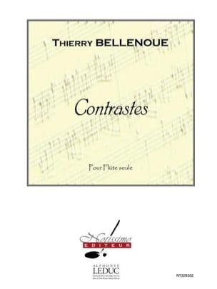 Contrastes Thierry Bellenoue Partition laflutedepan