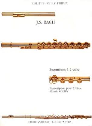 Inventions à 2 voix - 2 Flûtes - BACH - Partition - laflutedepan.com
