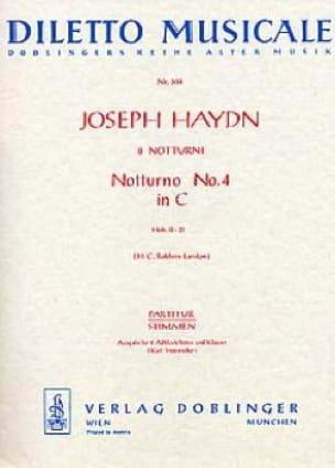 Notturno Nr. 4 C-Dur Hob. 2 : 31 - 2 Altblockflöten Klavier - laflutedepan.com