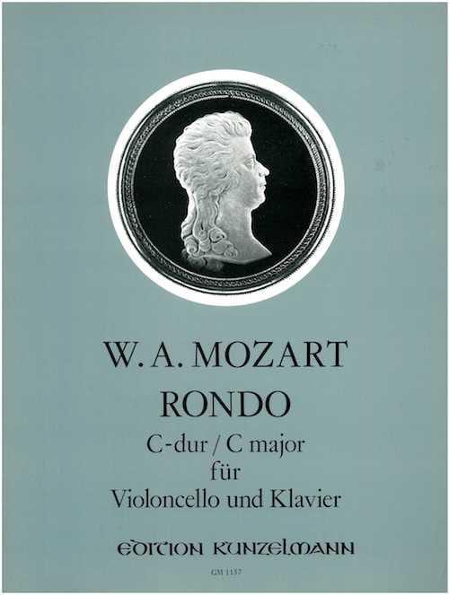 Rondo C-Dur -VIoloncello Klavier - MOZART - laflutedepan.com