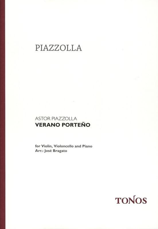 Verano Porteño -Violin cello piano - laflutedepan.com