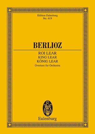 König Lear, Ouverture BERLIOZ Partition Petit format - laflutedepan