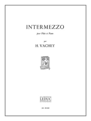Intermezzo Henri Vachey Partition Flûte traversière - laflutedepan
