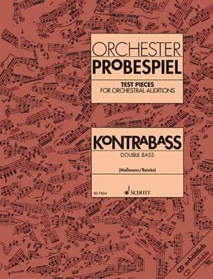 Orchester Probespiel - Kontrabass laflutedepan
