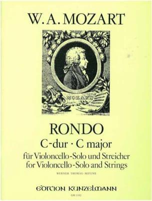 Rondo C-Dur KV 373 -Violoncello solo u. Streicher MOZART laflutedepan